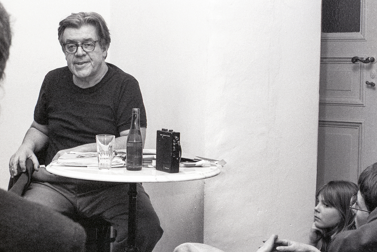 Erich Fried, Berlin, März 1984