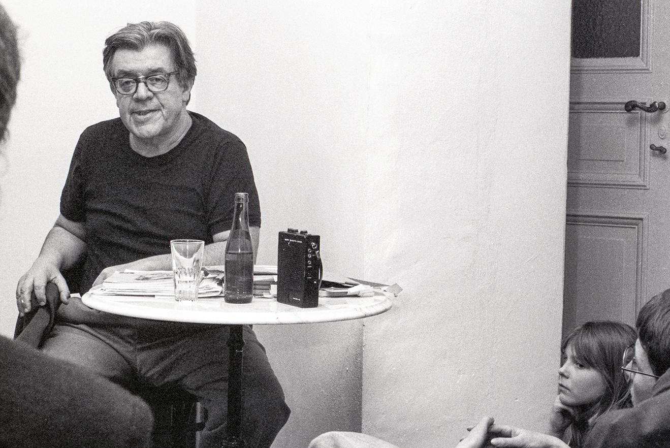 Erich Fried, Berlin, März 1984