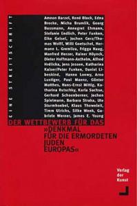 Streitschrift zum Wettbewerb fuer das Holocaust_Denkmal_1995_NGBK